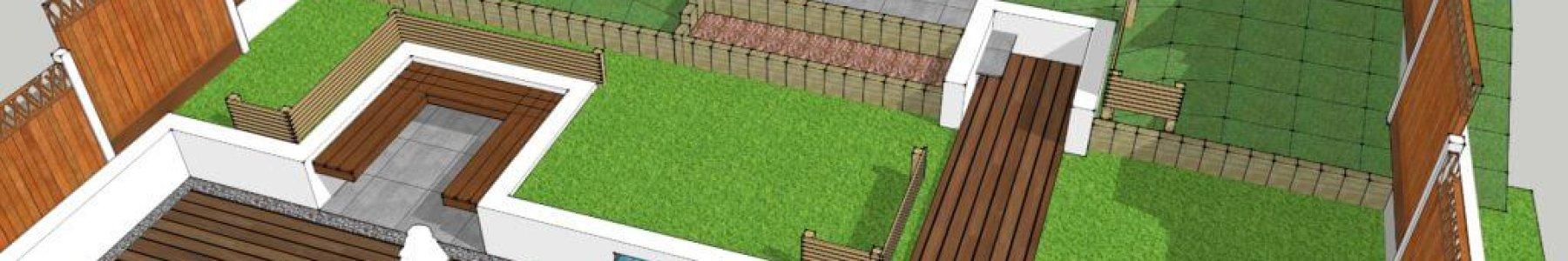 Split Level Garden