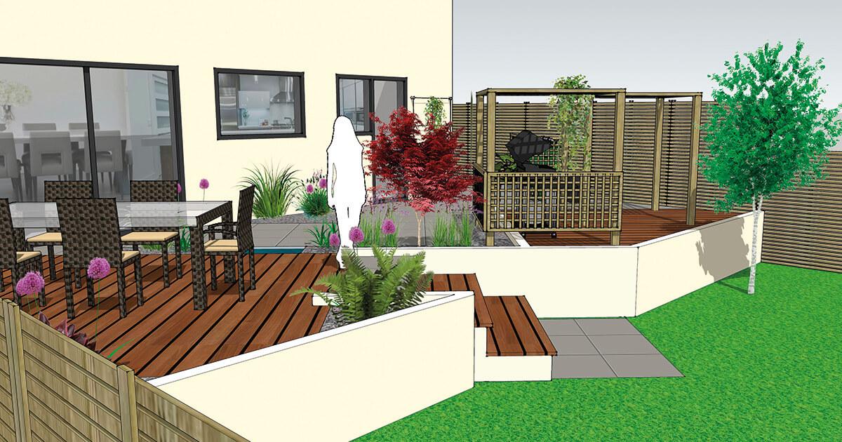 Garden Design Concept